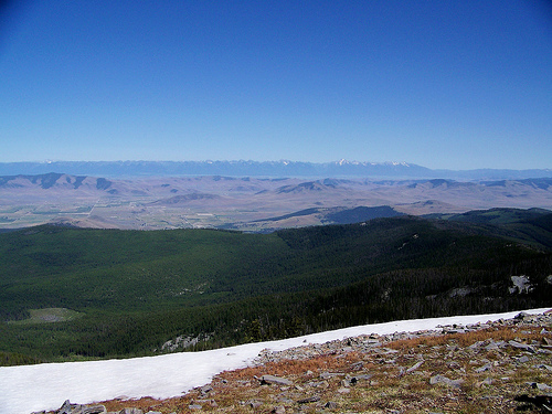 From Mt. Baldy, near Hot Springs