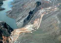 Thistle Landslide
