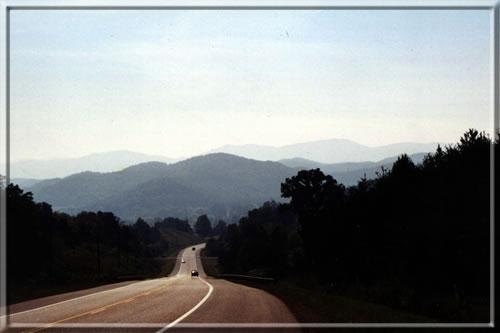 heading into Tellico Plains