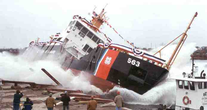 Launch of the Henry Blake in Marinette