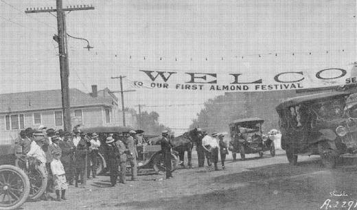 first esparto almond festival 1916