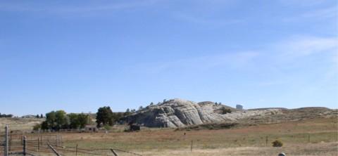 rock in the glen