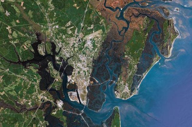 vicinity aerial photo