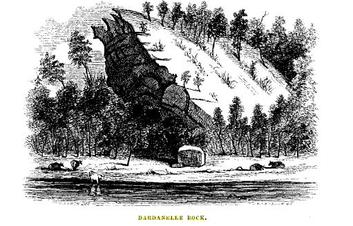dardenelle rock woodcut