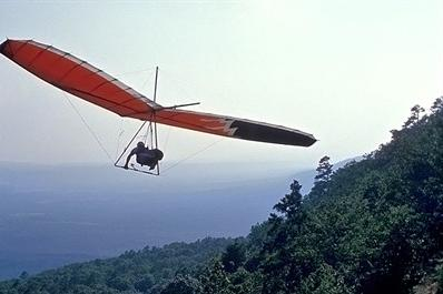 hang gliding mt nebo