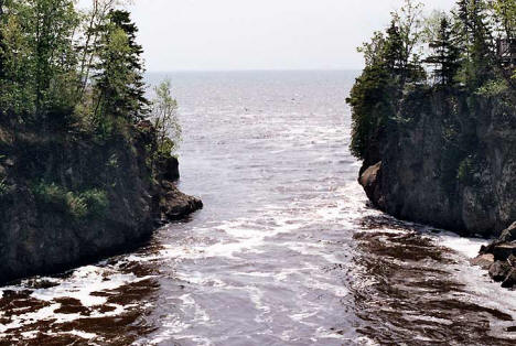mouth of the temperance river