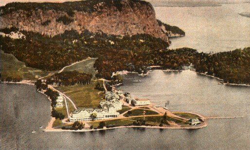 Mt Kineo resort 1924