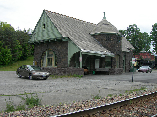 port henry train station
