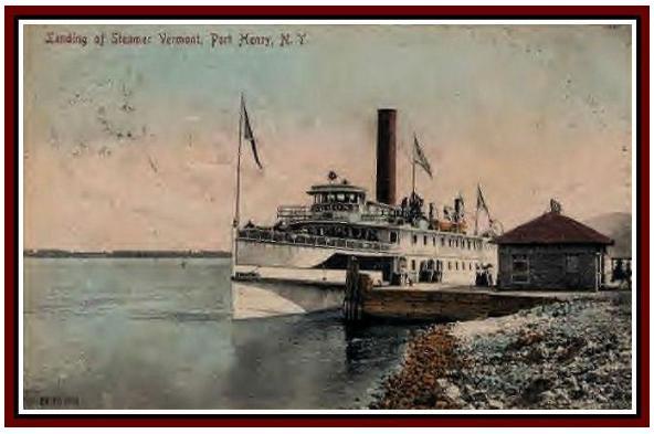 steamer vermont at port henry