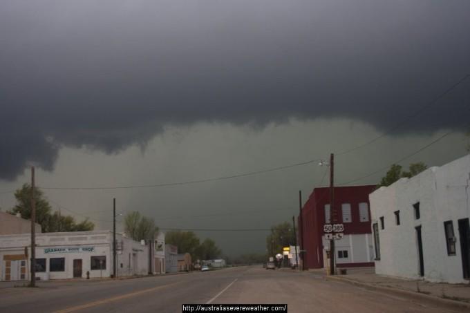 storm over granada