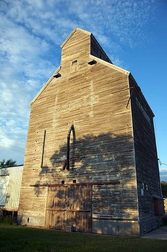 borup grain elevator