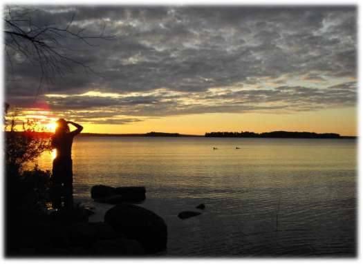 dexter wassookeag sunset