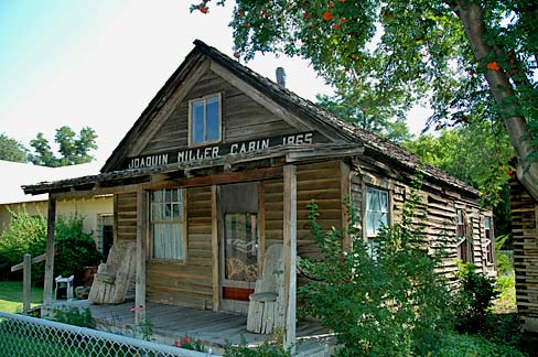 joaquin miller cabin in Canyon City