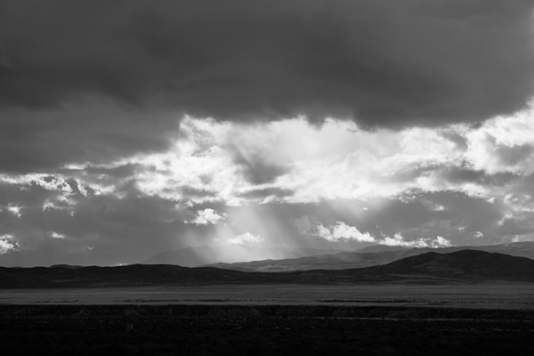 rain and sunlight near lovelock
