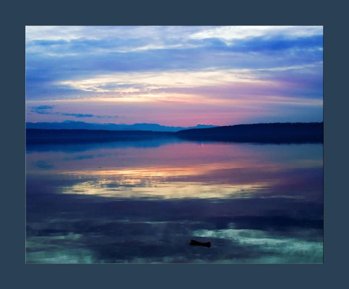 camano island sunset