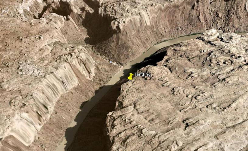 google earth landing2