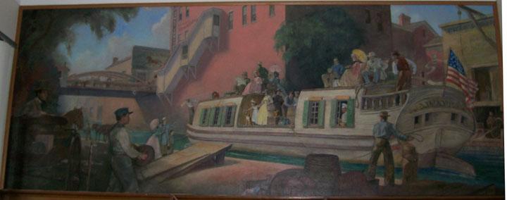 PO mural