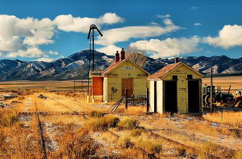 Currie nevada a landing a day for Railroad stations for sale
