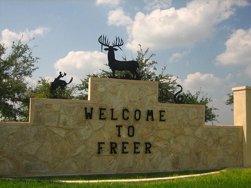 Freer Texas Map%0A Freer