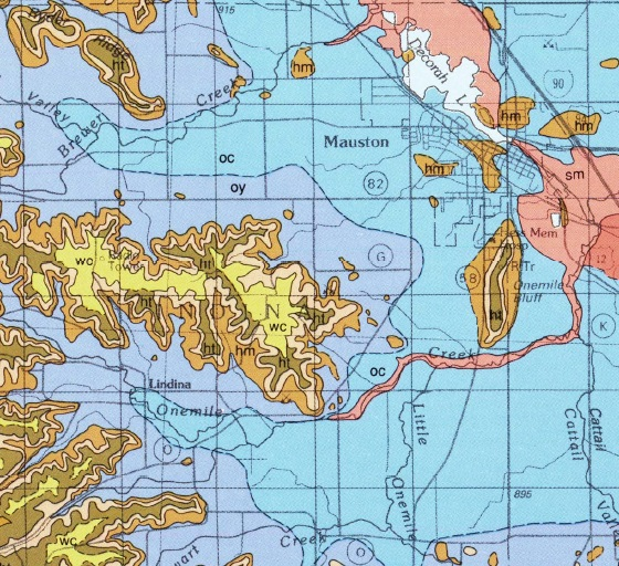 mauston - Geology