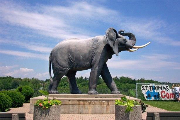 miss jumbo statue