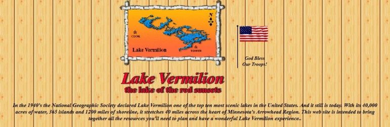 vermilion lake home page