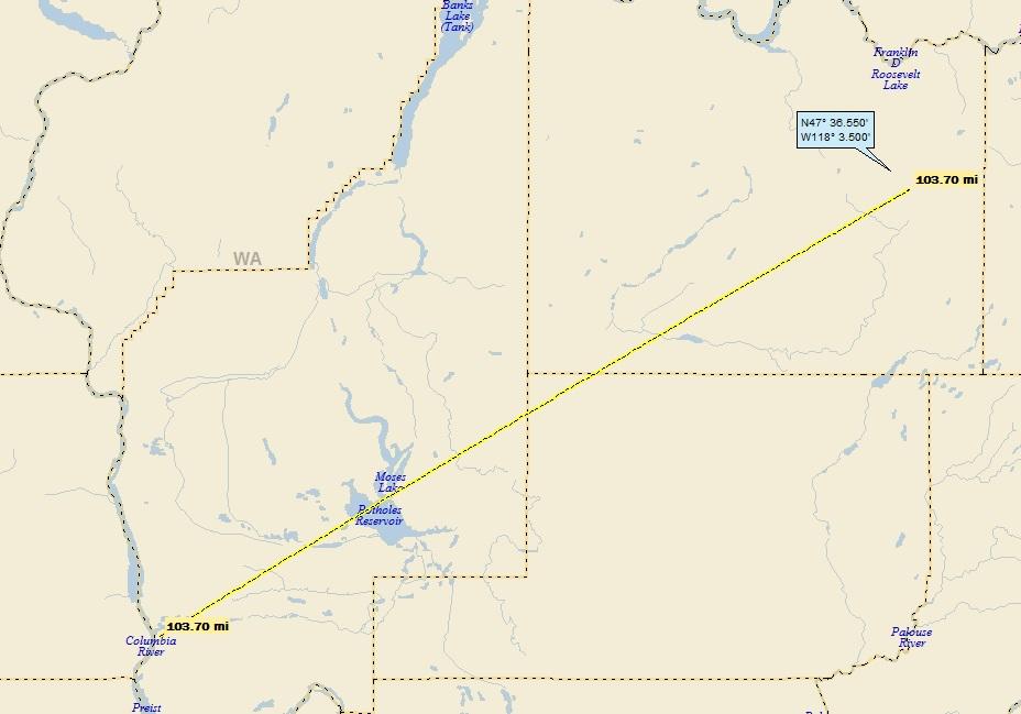 Davenport Washington Map.Davenport Wa A Landing A Day