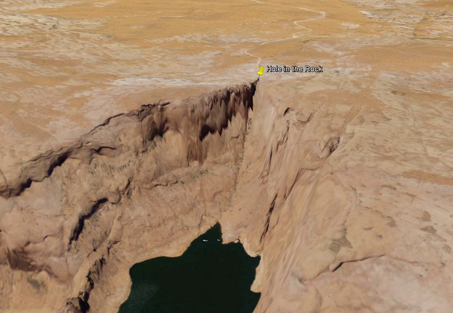 blanding hole in the rock ge 2