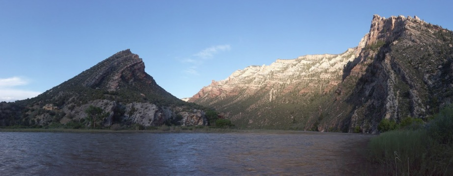 david herberg looking upstream into whirlpool canyon