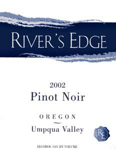Rivers Edge 2002 Pinot Noir