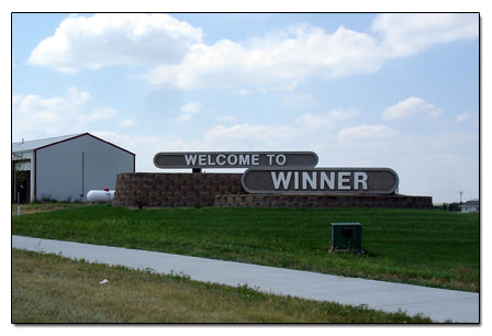 winner-welcomesign scenic sd