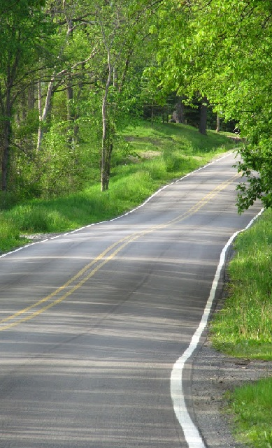 a curve on patterson lake road