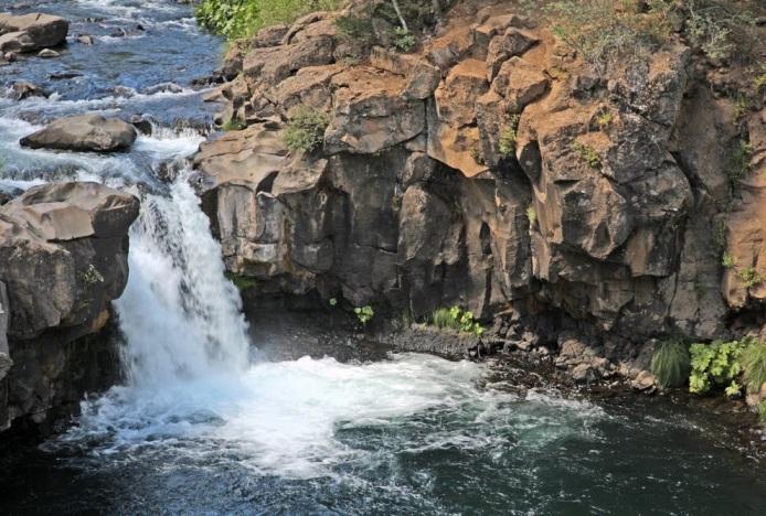 shasta lower mccloud falls pano c.b.cessna