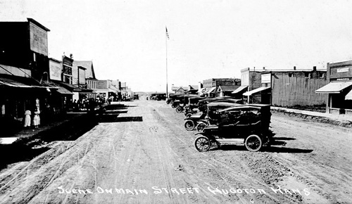 back in the day shot of hugoton