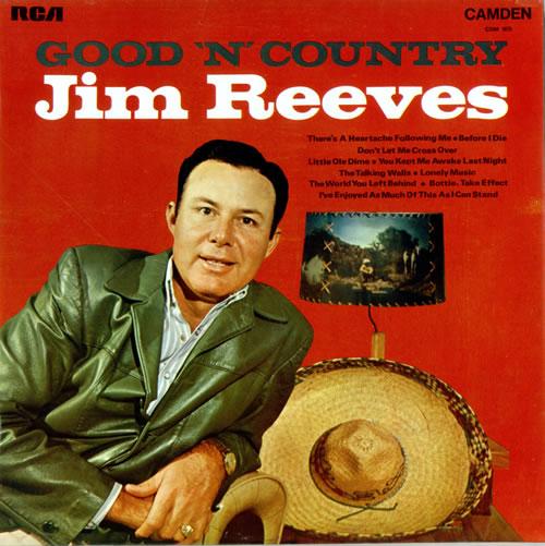 Jim+Reeves+-+Good+'N'+Country+-+LP+RECORD-478711