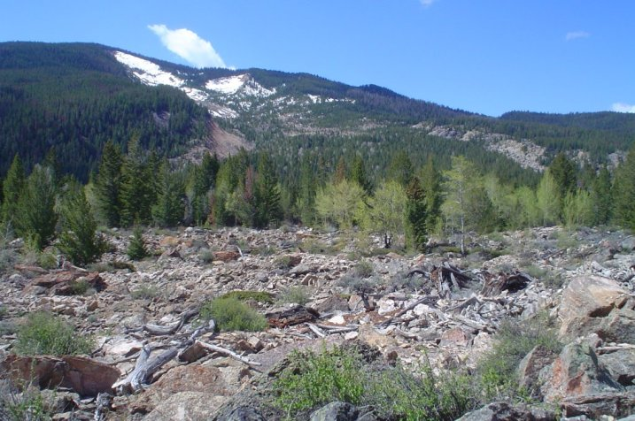 pano nmnc debris field and scar