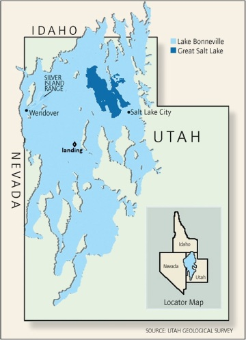 utah geological survey lake bonneville map
