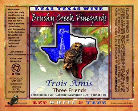 brushy creek label