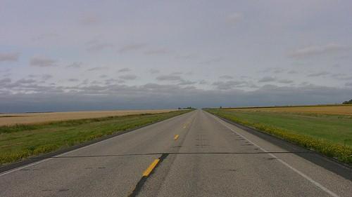 old highway shot