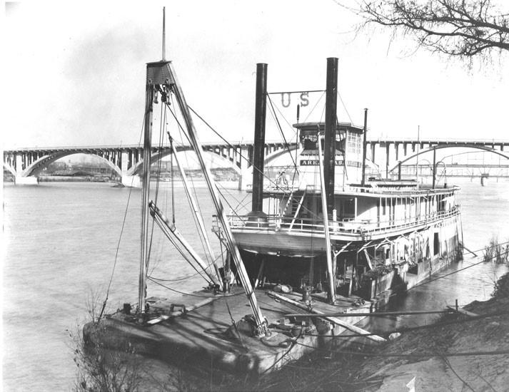 old snag boat