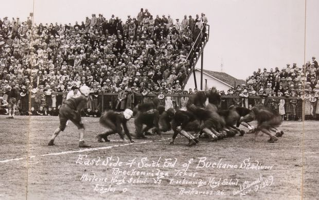 1929 football breckenridge 26-0 over abilene
