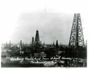 texas tech old oil field shot