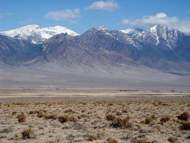 deep creek mountains just west of my landing - wiki