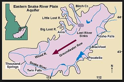 idaho state aquifer map
