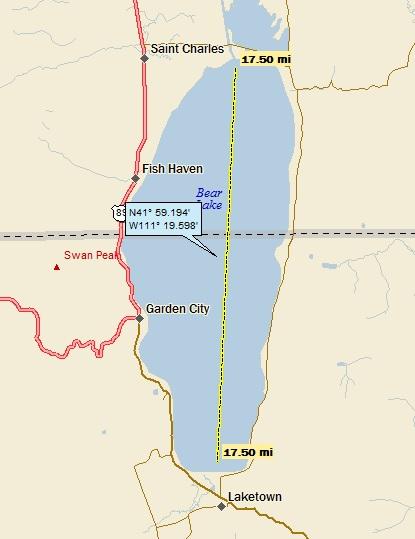 Bear Lake Utah And Idaho A Landing A Day
