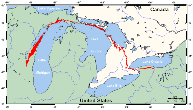 Niagara_Escarpment_map wiki