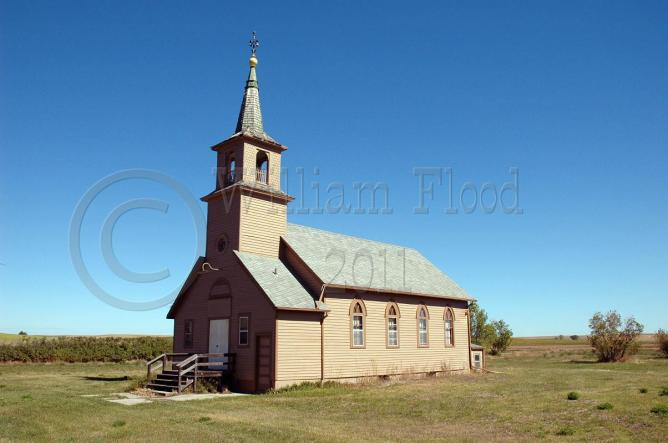 Artas  William Flood _Deserted_Brown_Prairie_Church_-_Ackerman_St_-_Artas_So_Dakota_-_02_-_proof