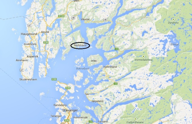 Google Maps - Nedstrand 2