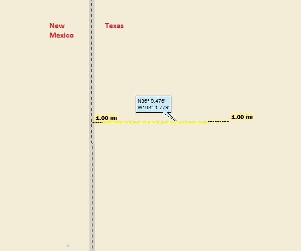 Map Of Xit Ranch Texas.Xit Ranch A Landing A Day