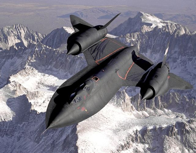 Lockheed_SR-71_Blackbird from wiki